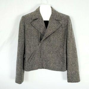 Lauren Ralph Lauren Jacket Wool Tweed Blazer W1329